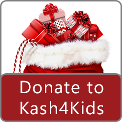 kash4kids donate button